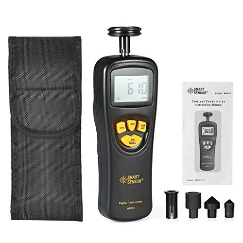 Morza Tacómetro Digital electrónica Especialidades Velocímetro Medidor de Contacto RPM del Motor