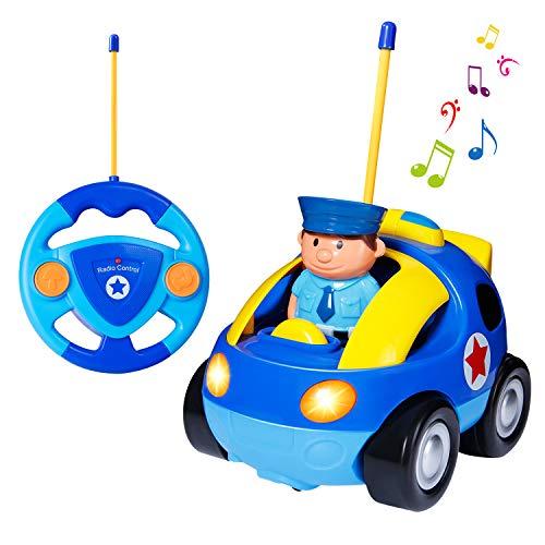 ferngesteuertes auto fuer 2 jaehrige SGILE Rennauto Ferngesteuertes Spielzeugauto für Kleinkinder und Kinder Kindergeschenk
