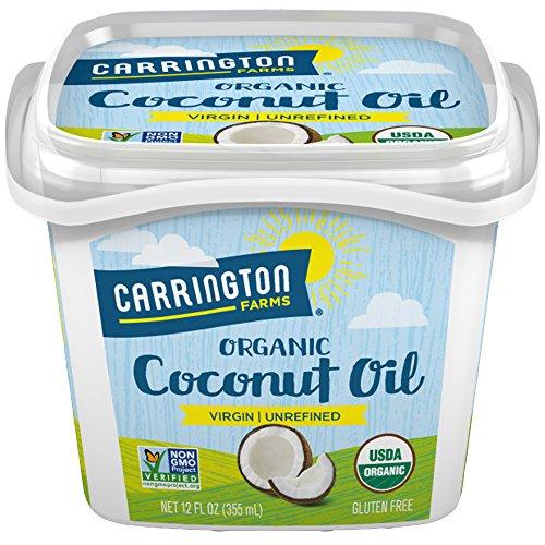 Carrington Farms, Coconut Oil, Pure, Unrefined, Cold Pressed, 12 oz (340 g)