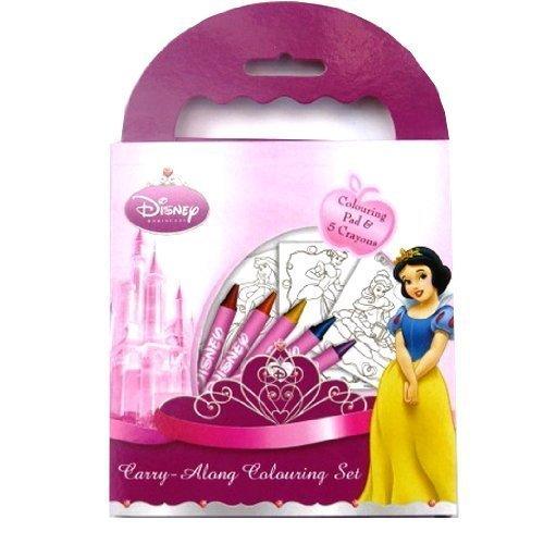 Disney Princess Carry-along Colouring Set