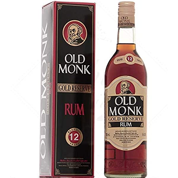 Old Monk Old Monk Gold Reserve Rum 12 Years Old 42,8 ...