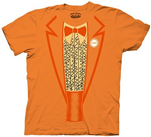 uxedo Tux Kostüm Orange T-Shirt Tee S ()