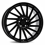 KESKIN KT17 MATT BLACK PAINTED 8x18 ET45 5.00x5x112 Hub Hole 72.60 mm - Alu felgen