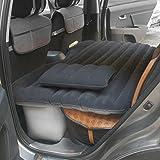 Coche colchón inflable cama hinchable para viajes asiento trasero coche cama suave colchón de aire con pumpfor senderismo Camping al aire libre maitian