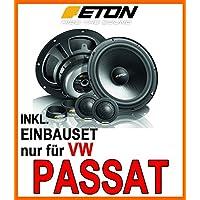 VW Passat 3C & CC - Lautsprecher Front - Eton POW 172.2 Compression - 16cm 2-Wege System - Einbauset