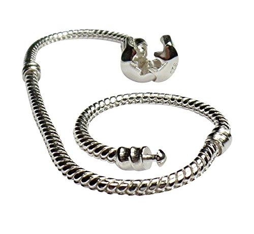 5aefc900fe6 High quality bracelet sterling silver il miglior prezzo di Amazon in ...