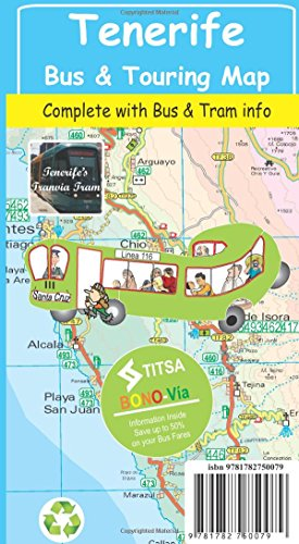Tenerife Bus & Touring Map 2015