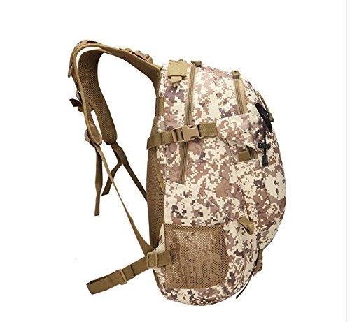 Escursionismo sacco sport outdoor da viaggio zaino camouflage Oxford tessuto Borse zaino 50*37*18cm, deserto Digital Colore ACU