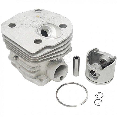 L&S Engineers Zylinder + Kolben für Husqvarna 346XP 350 Kettensäge, 44mm 346xp Kettensäge