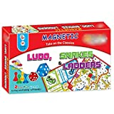 Best Creativity for Kids Board Game For Kids - Grapple Deals 2 in 1 Ludo Snakes Review