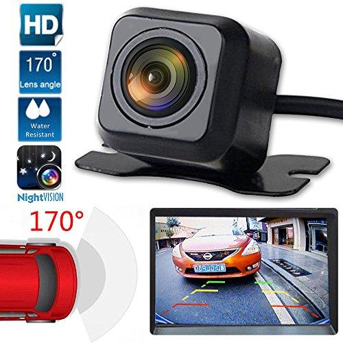 Jamicy® Rückfahrkamera-Set, 170° Weitwinkel- Rückfahrkamera, IP68 wasserdicht, Nachtsicht, für LKW/Anhänger/Bus/Van/Landwirtschaft/Schwertransport
