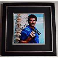 Sportagraphs Tom Selleck SIGNED Framed LARGE Square Photo Autograph display TV Magnum PI COA PERFECT GIFT