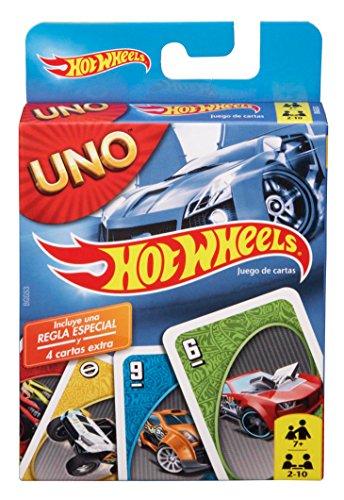 Mattel Games - UNO Hot Wheels juego de cartas
