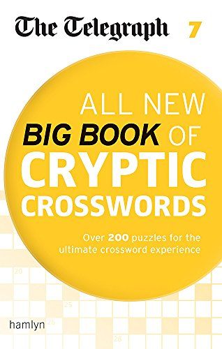 The Telegraph All New Big Book of Cryptic Crosswords 7 (The Telegraph Puzzle Books)