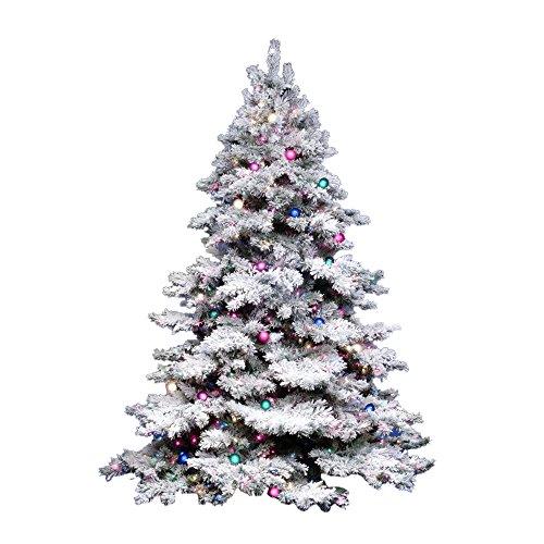 Vickerman Künstlicher Weihnachtsbaum, beflockt, 91,4 cm 36