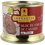 Jean larnaudie bloc de foie gras de canard au porto ue bte 150 g - Prix Unitaire - Livraison Gratuit Sous 3 Jours