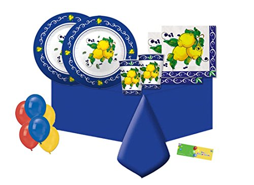 Big Party kit n 4 Coordinato Sorrento - Limoni addobbi festa a tema