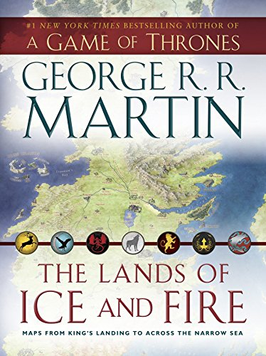 The Lands of Ice and Fire (A Game of Thrones): Maps from King's Landing to Across the Narrow Sea (A Song of Ice and Fire) (Epische Film-geschenk-karten)