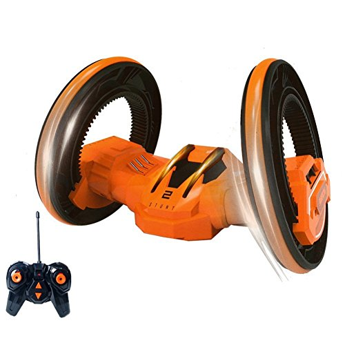 sainsmart-jr-two-wheels-stunt-race-car-rc-vehicle-with-led-headlights-double-sided-tumbling-extreme-