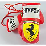 Ferrari mini-gants de boxe pour voiture