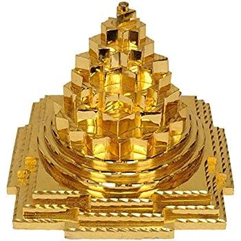 Moira Laxmi Shree Yantra (Panchdhatu) 4 X4 X4 cms