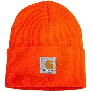 Carhatt Acrylic Watch Hat,Bright Orange-One Size