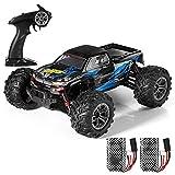 HELIFAR RC Geländewagen Funkferngesteuerte Auto 1:16 RC Crawler 4WD Motor 36 killometer / h mit Zwei Batterien Kinder / Jugendlichen (Blau)