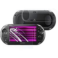 atFoliX Pellicola Protettiva in Vetro Sony PlayStation Vita Slim Pellicola Vetro - Set di 1 - FX-Hybrid-Glass - 2007 Di Cristallo