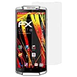 atFolix Schutzfolie kompatibel mit Oukitel K10000 Bildschirmschutzfolie, HD-Entspiegelung FX Folie (3X)