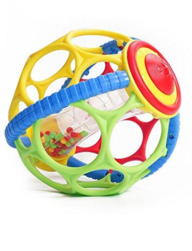 Konig Kids Rattle and Ball Gym 2 in 1 Spielzeug mit Geräuschen beim Schütteln weich und sicher für Babys Kleinkinder Kinder