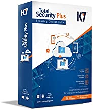 K7 Total Security Plus Multi Device - 3 PCs, 1 Mobile, 1 Tablet- 1 Year (DVD)