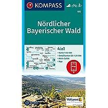 Nördlicher Bayerischer Wald: 4in1 Wanderkarte 1:50000 mit Aktiv Guide und Detailkarten inklusive Karte zur offline Verwendung in der KOMPASS-App. ... Langlaufen. (KOMPASS-Wanderkarten, Band 195)