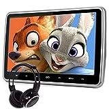 10.1Inch HD Digital und Breitbildschirm, Super-Dünn Auto Kopfstütze, DVD Spieler mit USB und SD, Drahtloses Spiel, HDMI und IR Kopfhörer