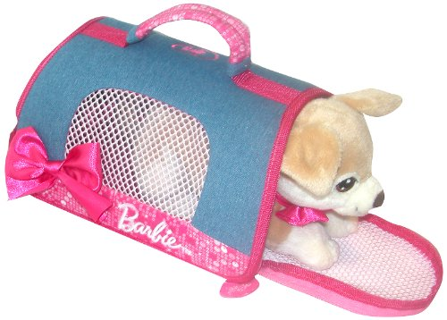 Lelly 24 x 20 cm Barbie Pets Sac de Transport (Marron)