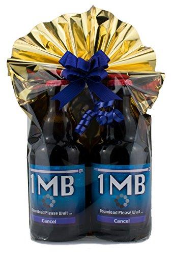 Download Geschenkeset 2 Mittelgrosse Bier in Folie und Schleife verpackt als Geschenk (Download Computer Spiele)