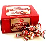Toronto Avellana Cubierta con Chocolate SAVOY / Chocolate Covered Hazelnut. Caja de 324 gr / 11.41 Oz box (36 und/count caja/box) (10 CAJAS)