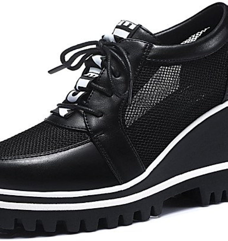 NJX/ hug Zapatos de mujer - Plataforma - Cuñas / Creepers - Tacones - Oficina y Trabajo / Vestido / Casual / Fiesta...