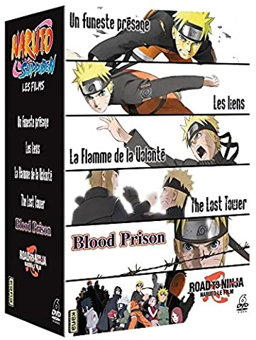 The Road To - Naruto Shippuden - Les 6 films :