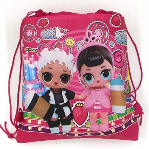 CTOBB Banner Straw Süßigkeiten Popcorn Box Ballon Überraschung Puppen Kindergeburtstag-Party Set Partybedarf Dekoration Papier Cup Platte Serviette, Taschen-1-1pcs -