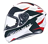 CASCO MT TARGO ENJOY FF106 ROJO PERLADO BRILLO (S)