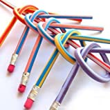 Pack de 30 unidades de lápices mágicos flexibles para niños., Morado, No.1
