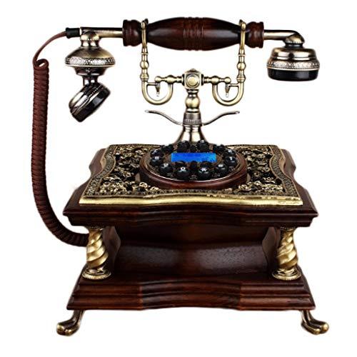 WXL Handsfree Phone Antique Hintergrundbeleuchtung Festnetz für Office Family Dekoration verwendet (Farbe : Hands-Free Backlit Dialing)
