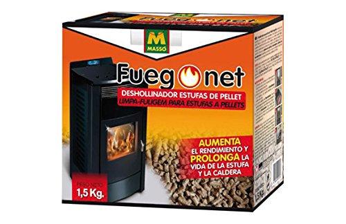 Fuego net 231296 Pellet camino spazzare 1.5 kg