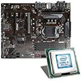 Intel Core i5-8400 / MSI Z370-A Pro Mainboard Bundle | CSL PC Aufrüstkit | Intel Core i5-8400 6X 2800 MHz, Intel UHD Graphics 630, GigLAN, 7.1 Sound, USB 3.1 | Aufrüstset | PC Tuning Kit
