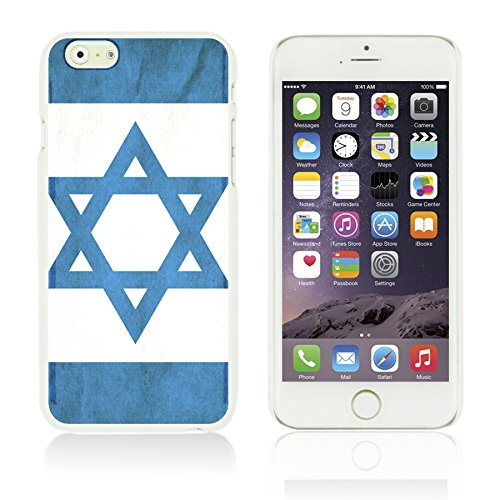 OBiDi - Flag Pattern Hard Back Case / Housse pour Apple iPhone 6 Plus / 6S Plus (5.5)Smartphone - Germany Israel