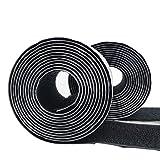 Velcro fascette per cavi 10 mm larga FASCETTA nastro di velcro fascette in velcro su entrambi i lati
