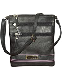 Style98 Leather Women's Sling & Cross-Body Bags Black (5008IAU50)