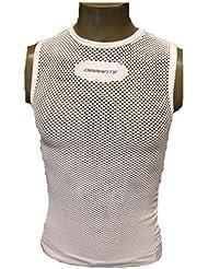 Diamant Lingerie Summer Vest Mesh White L/XL