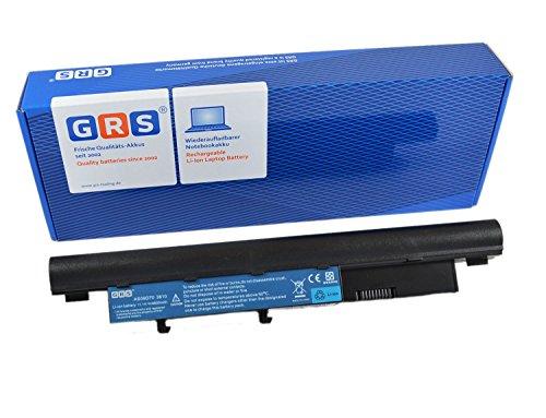 GRS Batterie d'Ordinateur Portable fç ¬ R Dell Studio 1745, 1747, 1749 Avec 6600 mAh, remplace : N855P, N856P, 312–0196, U164P, 312–0186, batterie ordinateur portable 6600 mAh, 11,1 V
