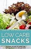 Low Carb Snacks: 50 Sandwiches, Suppen, Salate & Co. unter 300 Kalorien (Genussvoll abnehmen mit Low Carb 4)